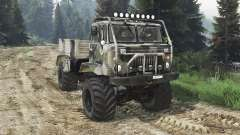GAZ-66 [25.12.15] for Spin Tires