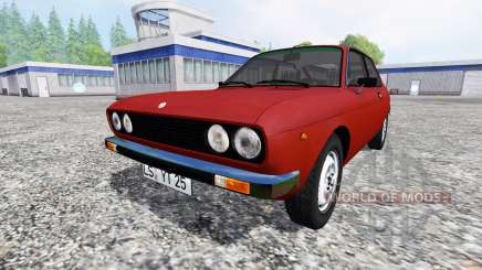 Fiat 128 3P Berlinetta 1978 for Farming Simulator 2015