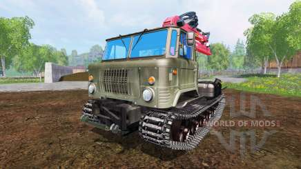 GAZ-66 [skid] for Farming Simulator 2015
