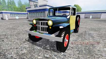 Jeep Pickup 1956 for Farming Simulator 2015