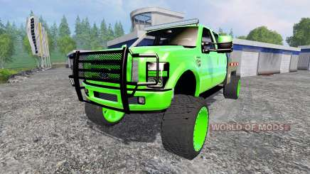 Ford F-350 [lifted] for Farming Simulator 2015