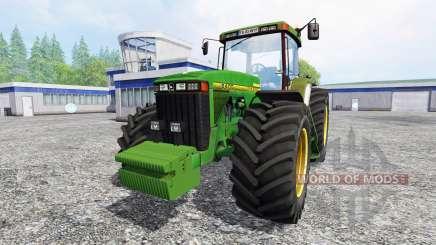 John Deere 8400 v1.5 for Farming Simulator 2015