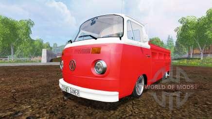 Volkswagen Transporter T2B 1972 [lowered] for Farming Simulator 2015
