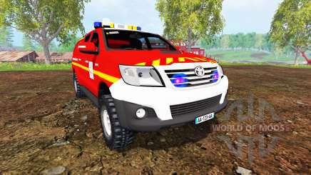 Toyota Hilux VLHR for Farming Simulator 2015