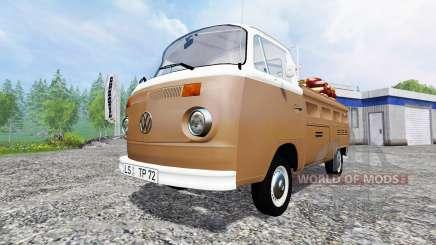 Volkswagen Transporter T2B 1972 Service for Farming Simulator 2015