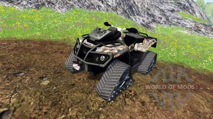 Can-Am Outlander 1000 XT [quadtrac camo] for Farming Simulator 2015