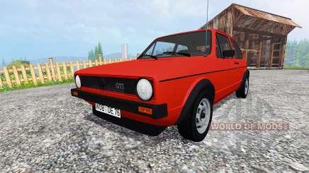Volkswagen Golf I GTI 1976 v1.1 for Farming Simulator 2015