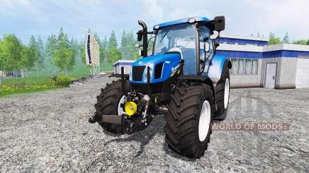 New Holland T6.160 v1.0.0 for Farming Simulator 2015