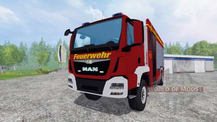 MAN TGM 14.250 Firetruck [blaulicht] for Farming Simulator 2015