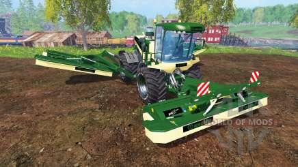 Krone Big M 500 [green and black] for Farming Simulator 2015