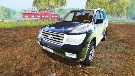 Toyota Land Cruiser 200 [Bergwacht Alpenberg] for Farming Simulator 2015