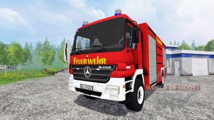 Mercedes-Benz Actros [feuerwehr] for Farming Simulator 2015