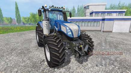 New Holland T8.420 [blue power] v1.0 for Farming Simulator 2015