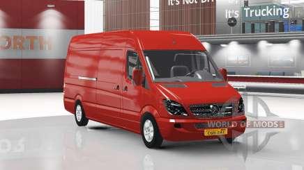 Mercedes-Benz Sprinter LWB v1.1 for American Truck Simulator