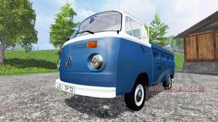 Volkswagen Transporter T2B 1972 v1.1 for Farming Simulator 2015