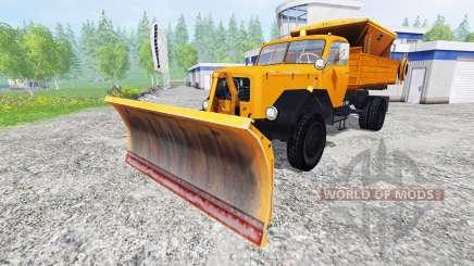 Magirus-Deutz 200D26 1964 [snow plow] for Farming Simulator 2015