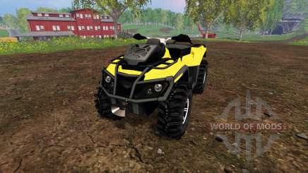 Can-Am Outlander 1000 XT v1.0 for Farming Simulator 2015