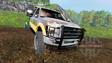 Ford F-350 [welding bed] v2.1 for Farming Simulator 2015