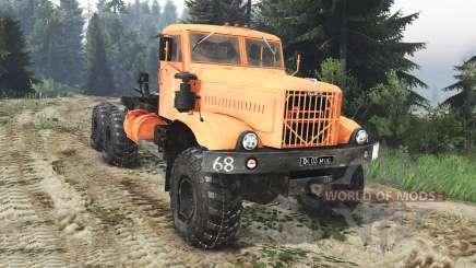 KrAZ-255 B1 [25.12.15] for Spin Tires