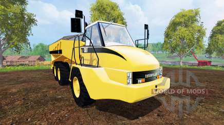 Caterpillar 725A [manure spreader] for Farming Simulator 2015