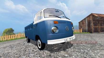 Volkswagen Transporter T2B 1972 v1.0 for Farming Simulator 2015