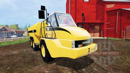 Caterpillar 725A [liquid manure] v2.0 for Farming Simulator 2015