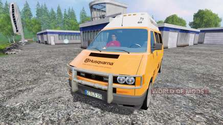 Volkswagen Transporter T4 Husqvarna Service for Farming Simulator 2015