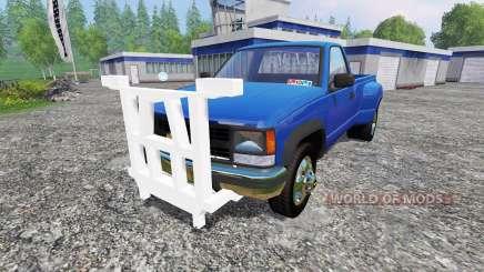 Chevrolet Silverado 3500 1994 [plow] for Farming Simulator 2015