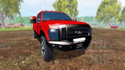 Ford F-250 2009 v2.0 for Farming Simulator 2015