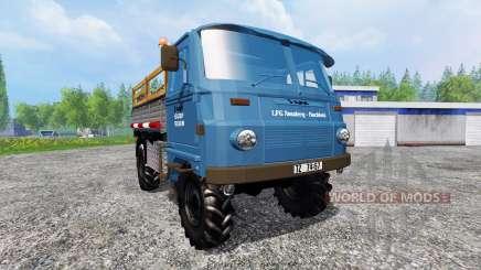 Robur LD 3000 v2.0 for Farming Simulator 2015