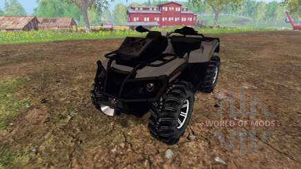 Can-Am Outlander 1000 XT [black] for Farming Simulator 2015