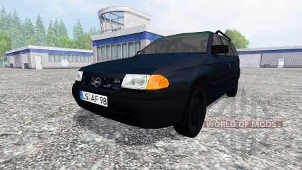 Opel Astra F Caravan v1.0 for Farming Simulator 2015