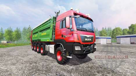 MAN TGS 10x8 [manure] for Farming Simulator 2015