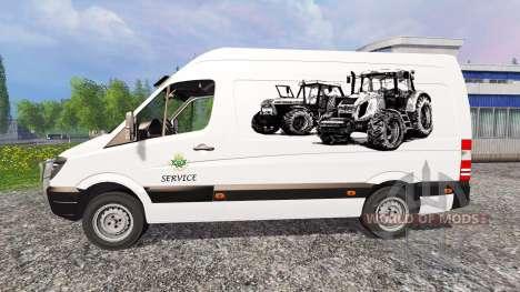 Mercedes-Benz Sprinte [service] for Farming Simulator 2015