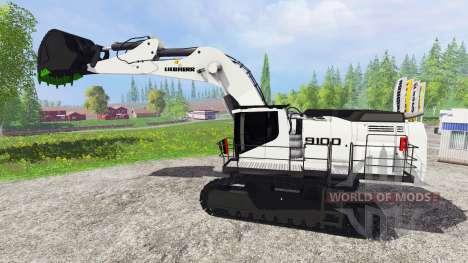 Liebherr R9100 for Farming Simulator 2015