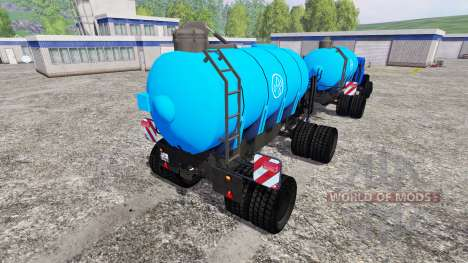 Magirus-Deutz 200D26 [water] v1.5 for Farming Simulator 2015