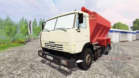 KamAZ-43253 for Farming Simulator 2015