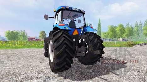 New Holland TG 285 v2.0 for Farming Simulator 2015