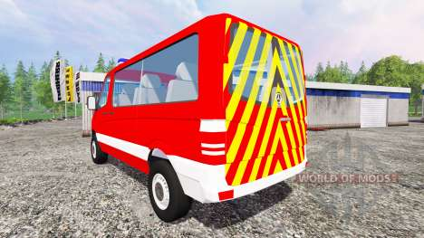 Mercedes-Benz Sprinter MTF for Farming Simulator 2015