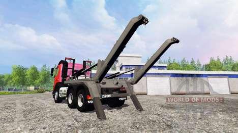 Volvo FMX [container truck] v1.2 for Farming Simulator 2015
