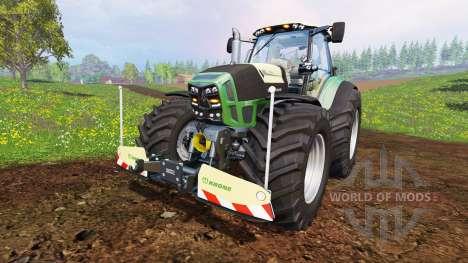 Deutz-Fahr Agrotron 7250 Warrior v7.0 for Farming Simulator 2015