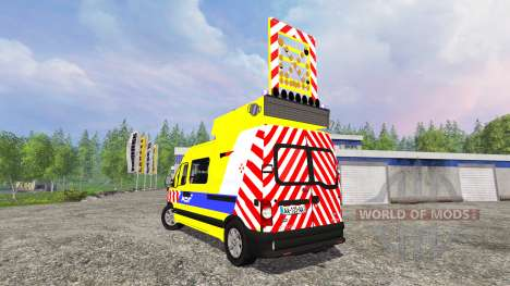 Renault Master ASF v2.1 for Farming Simulator 2015
