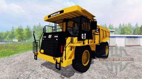 Caterpillar 773G for Farming Simulator 2015