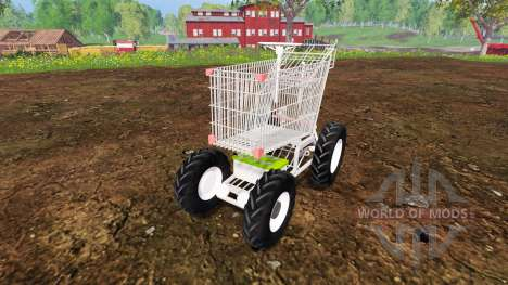Manual grocery cart for Farming Simulator 2015