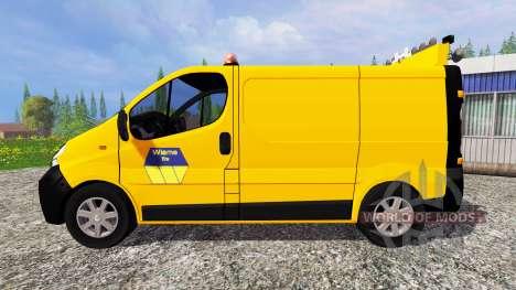 Renault Trafic Convoi Exceptionel for Farming Simulator 2015