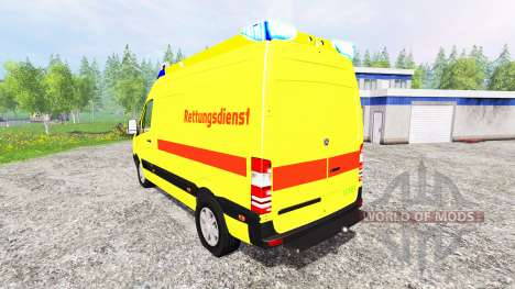 Mercedes-Benz Sprinter Ambulance for Farming Simulator 2015