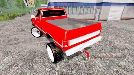 Chevrolet Silverado for Farming Simulator 2015