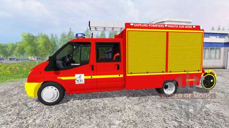 Ford Transit [sapeurs pompiers] for Farming Simulator 2015
