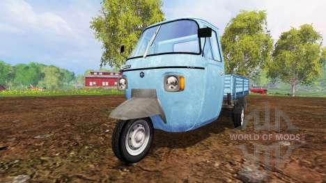 Piaggio Ape P601 for Farming Simulator 2015