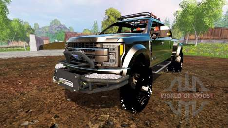 Ford F-450 2017 [custom] for Farming Simulator 2015